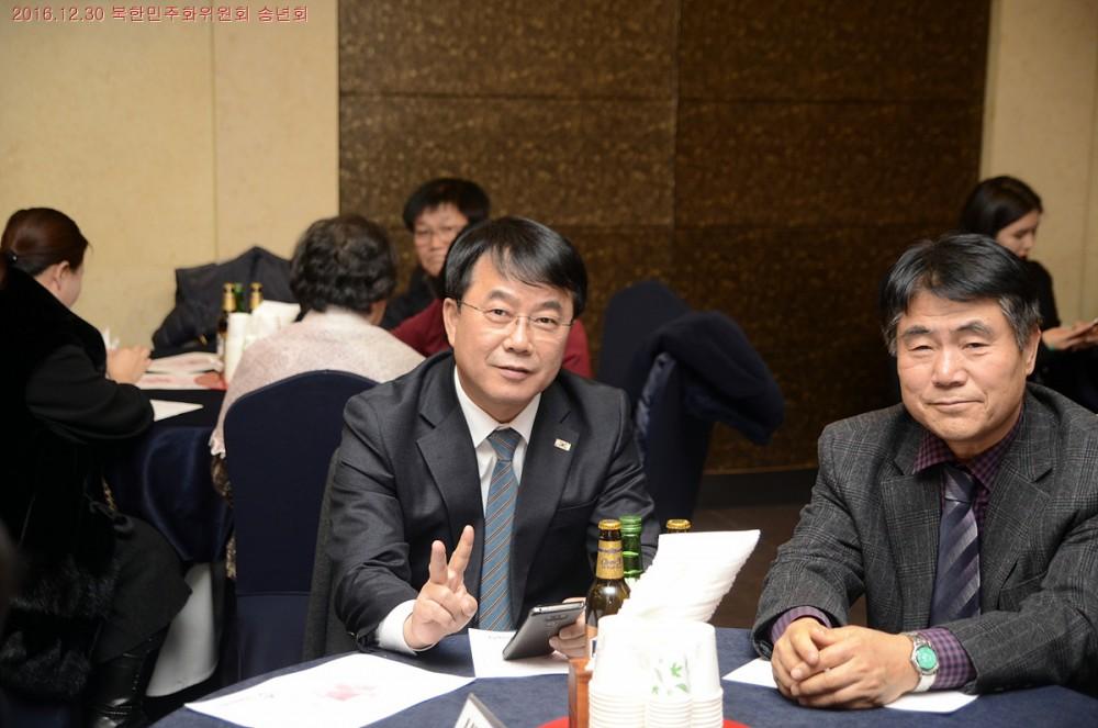 이해영 NK인포메이션센터 대표, 최주활 탈북자동지회 회장